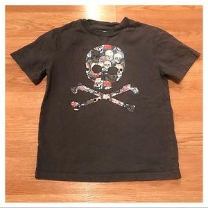 {Gap} Skull & Crossbones Tee, S (6-7)
